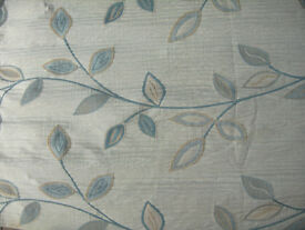 John Lewis fabric lined curtain ideal hung over door