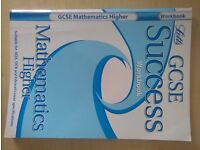 GCSE SUCCESS WORKBOOK. MATHEMATICS HIGHER! LETTS REVISION. SUITABLE FOR AQA, OCR & EDEXCEL. ONLY £2
