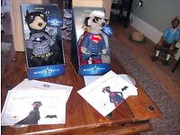 Batman and Superman Limited Addition Meerkats
