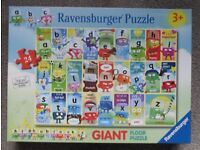 Educational Alphabet Giant Floor Puzzle for 3 years plus - £5