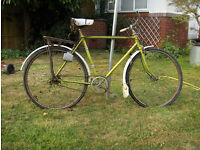 Man's bicycle - BSA Green 1972 ? Sturmey Archer
