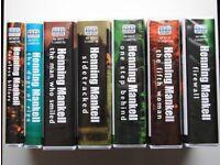 Henning Mankell - Wallender audio books x 7