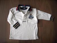 Polo by Ralph Lauren Rugby-Shirt weiß mit Wappen Gr. 18M (86) Bayern - Parkstetten Vorschau