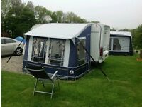 Dorema caravan porch awning,a very sturdy & stable awning vgc £150