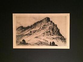Very Old Etching