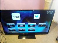 sharp 60 inch 3d tv wireless you tube etcand remote