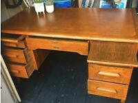 Mid century Abbess Teachers Desk/ Writing Station