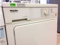 Miele NOVOTRONIC White Sensor Dry CONDENSER DRYER + 3 Months Guarantee + FREE LOCAL DELIVERY