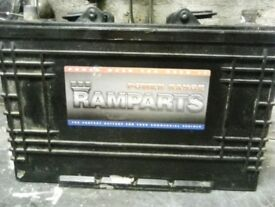 Ramparts battery