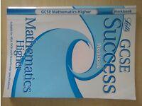 GCSE MATHS HIGHER SUCCESS WORKBOOK! ONLY £2.00