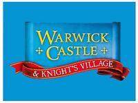 2x Warwick Castle 14/09/2018