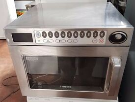Samsung CM1929 Super Heavy Duty Commercial Microwave, CATERING MICROWAVE 1850 WATTS