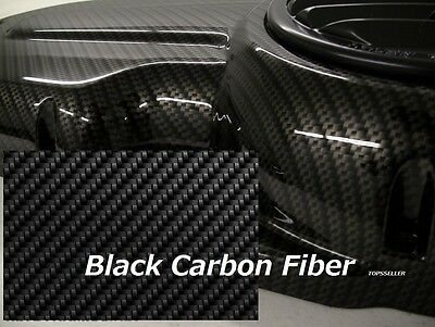 Black Carbon Fiber Hydrographics Film Water Transfer Printing 79x19 Pva