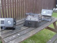 older dj/band lights for sale selling very cheap note old but all working fine great lights