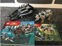 X2 Lego marvel Black Panther sets