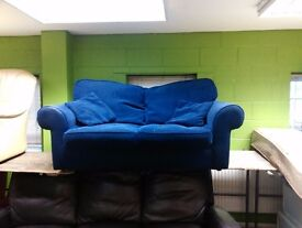 Nice blue colour fabric sofa bed sofabed 180 cm