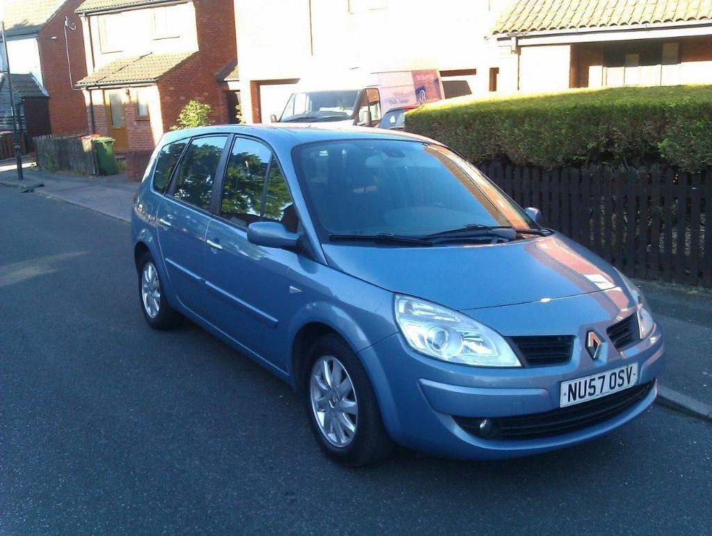 renault scenic grand 2007 petrol lhd left hand drive only 36k miles in canning town london. Black Bedroom Furniture Sets. Home Design Ideas