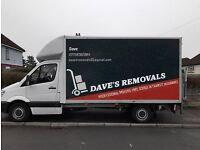 DAVE'S REMOVALS --LOW PRICES -PROFESSIONAL SERVICE-CALL AS NOW FOR A FREE QUOTE