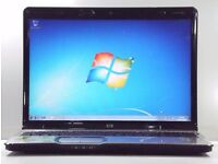 "AS NEW LAPTOP-HP PAVILION DV9823EM 17.1"" HD HDMI HP ENTERTAINMENT NOTEBOOK PC MS OFFICE DV9700"