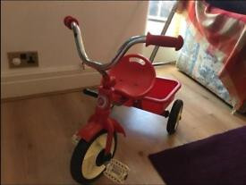 Retro Red Trike Tricycle