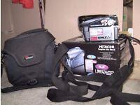 Hitachi Hybrid Camcorder DZ-H5500 E in original box with case & all accessories