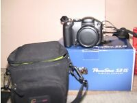 Canon Powershot camera S3 IS with case