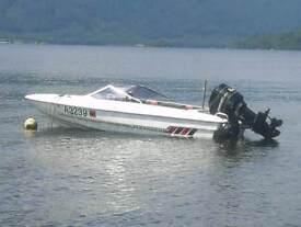 1998 Fletcher arrow fast speed boat