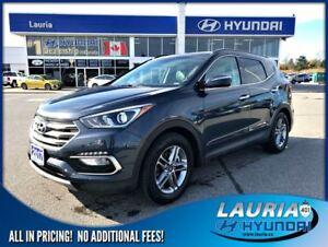 2017 Hyundai Santa Fe Sport 2.4L AWD SE Auto - Leather / Panoram