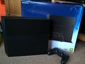 PS4 (PLAYSTATION 4) 500GB (As good as new)