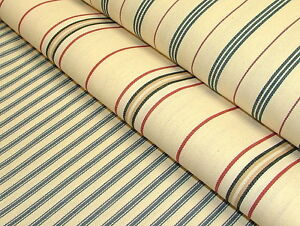 100-Cotton-Woven-Ticking-Canvas-Curtain-Upholstery-Premium-Designer-Fabric