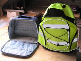 back pack and holdall, both brand new un used