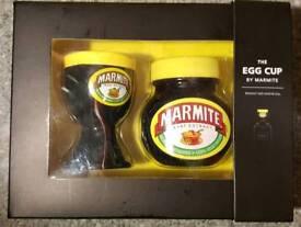 Marmite egg cup
