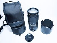 Nikon Nikkor AFS 80-400mm F/4.5-5.6 SWM VR IF AF DIGITAL FULL FRAME LENS