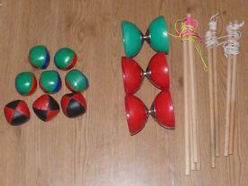 X3 diablo's x8 juggling balls