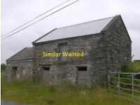Barn / Storage Shed Wanted