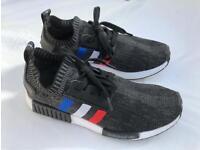 Adidas Tri Colour primeknit Black size 8