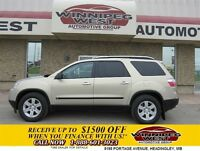 2009 GMC Acadia SLE ALL WHEEL DRIVE, LOADED, QUAD SEATING, DUAL