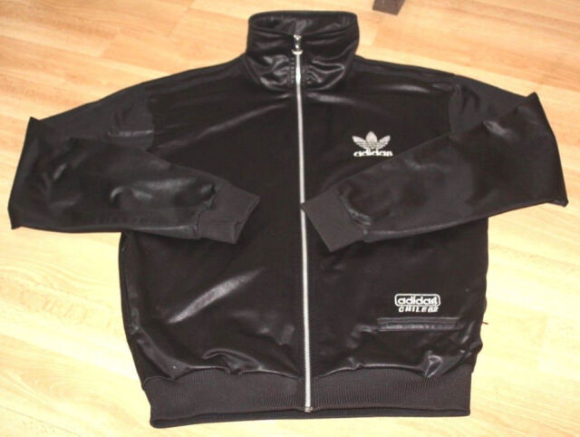 ADIDAS ORIGINALS CHILE 62 WET LOOK SHINE CLASSIC JACKET TRACK TOP M 3840