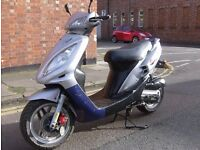 SYM JET 50 EXCELLENT RUNNER,COMES WITH 12 MONTHS MOT,ALL CYCLE PARTS IN GOOD CONDITION.