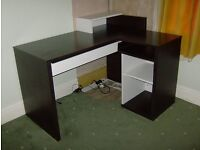 GAUTIER DESK - Corner Desk. Ideal for Home Office. Good Used Condition.