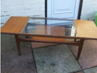 G plan coffee table Teak Long John 60's 70's design classic