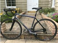 Unisex Kona Road bike, brand new with carbon fibre forks, unbelievably super light weight & quick