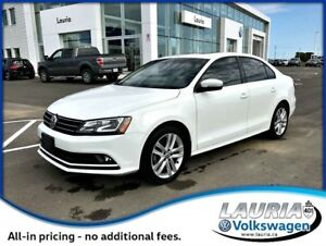 2015 Volkswagen Jetta 2.0 TDI Highline Auto - Navigation / LOADE