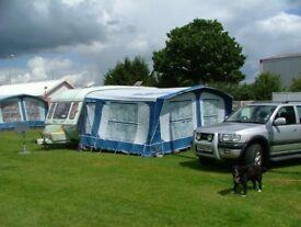 caravan awning size 925 like new