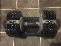 Men's health adjustable dumbbell 5-32.5kg