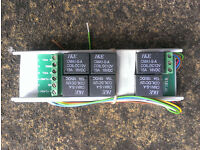 Towing relay for trailer lighting