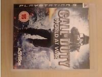 CALL OF DUTY. WORLD AT WAR. PS3. ONLY £7.00