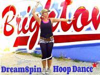 Hula Hoop Improvers - Progress your hoop skills! Starts 13th April 6.15pm