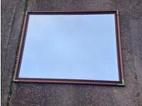 John Lewis Mirror with metal edges