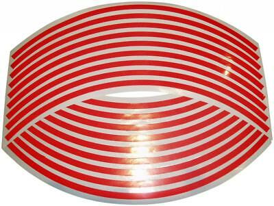 Reflective Wheel Rim Tape Stripes - Red Fits All